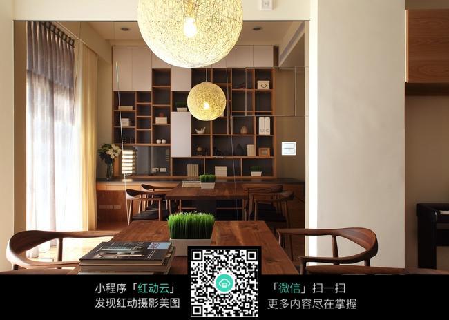 书桌_室内设计图片