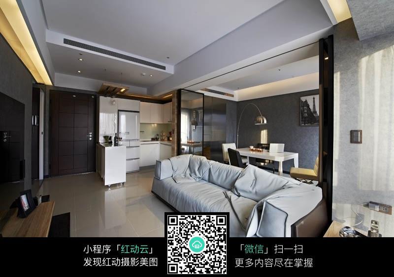 宾馆式精致客厅室内装修效果图图片