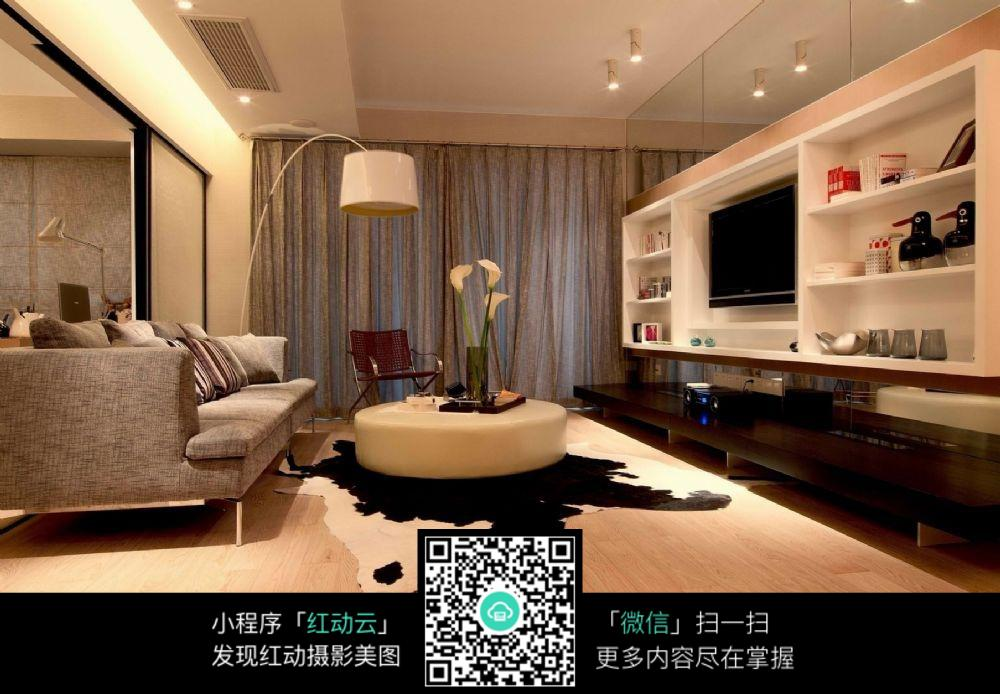 精美家居客厅室内装修效果图
