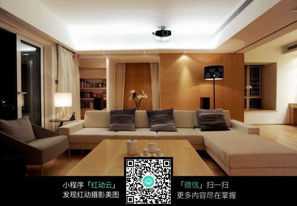 优雅港式客厅室内装修效果图图片