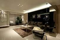 高档家居客厅装饰景观