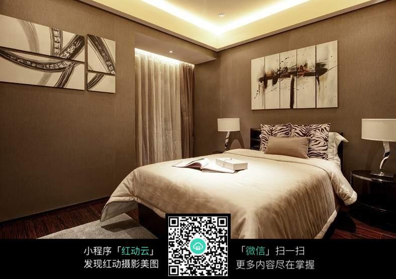 背景墙卧室家居酒店v背景房间卧室建筑现代装修788_554南阳装修设计院图片