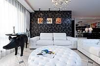 豪华家居客厅装饰景观