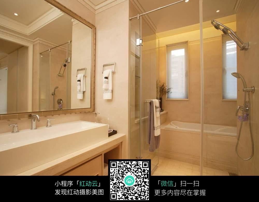 欧式浴室_室内设计图片图片