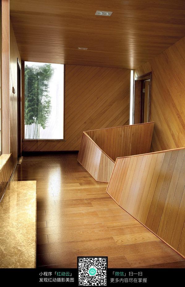 创意复式二层楼梯口设计效果图