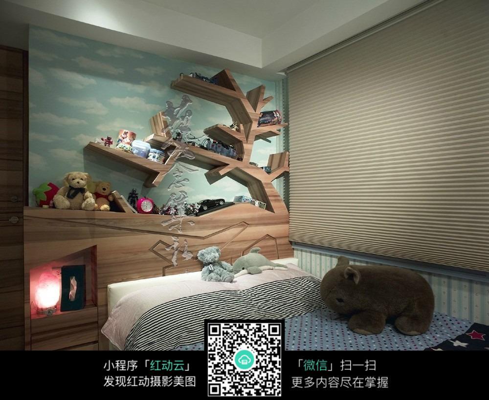 创意卧室设计床头效果图图片图片