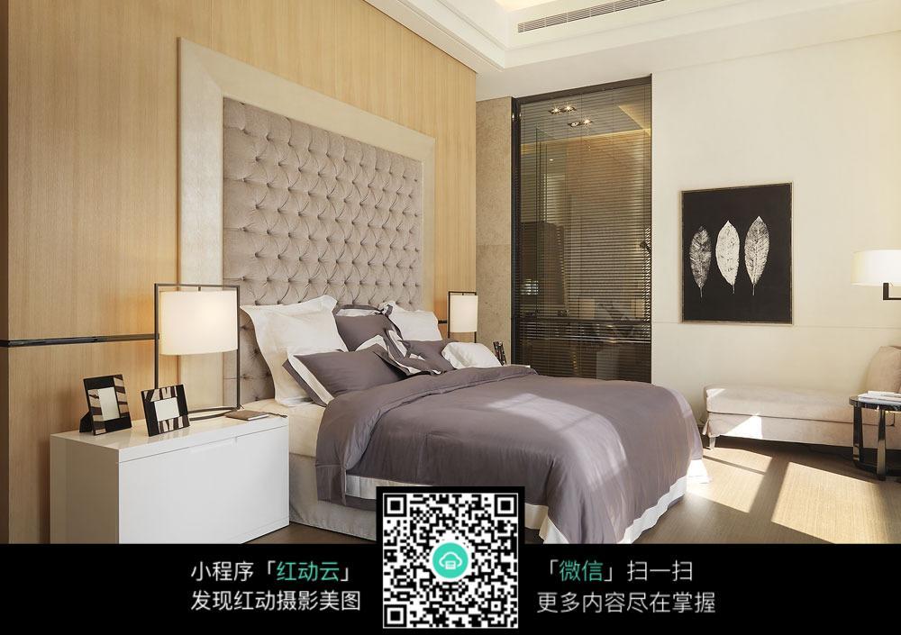 大气卧室设计效果图_室内设计图片图片