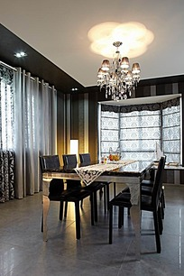 豪华餐厅装饰图片_室内设计图片图片