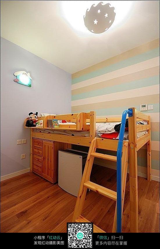 免费素材 图片素材 环境居住 室内设计 上下床儿童卧室效果图  请您图片