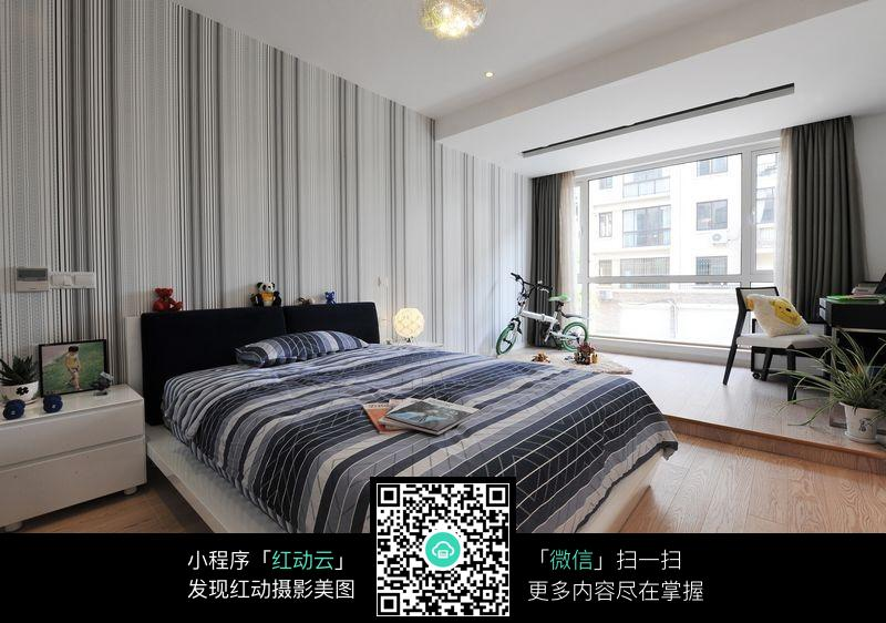 小男孩卧室室内装修设计效果图图片