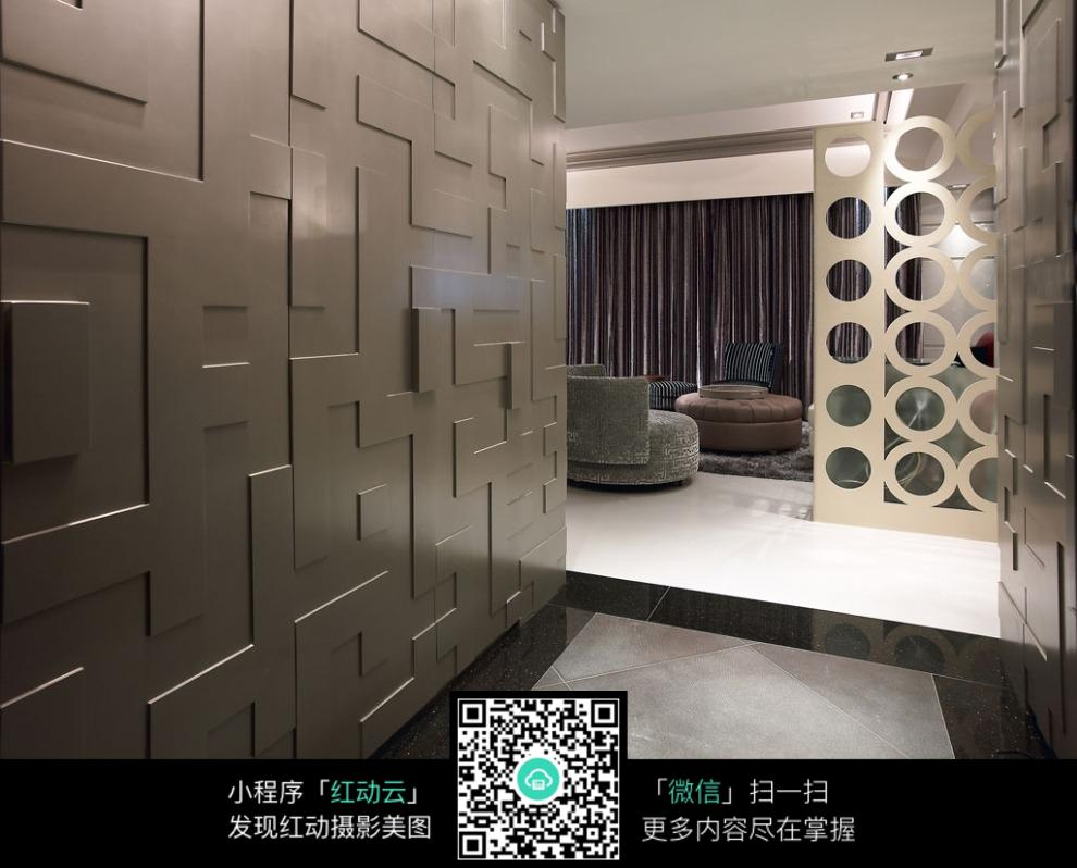 玄关_室内设计图片