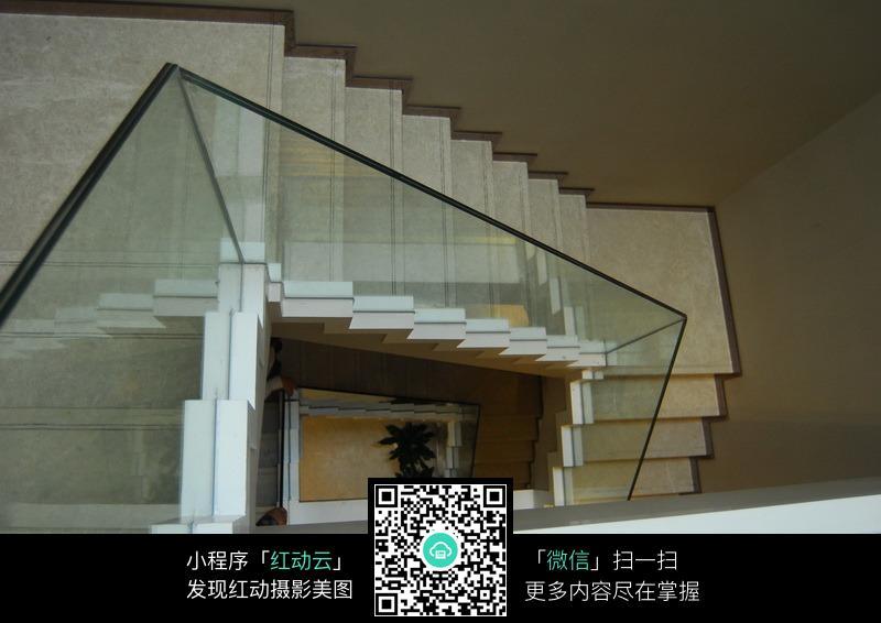 免费素材 图片素材 环境居住 室内设计 白色大理石楼梯  请您分享