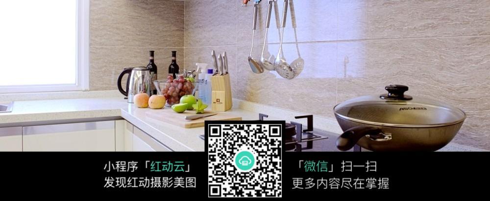 免费素材 图片素材 环境居住 室内设计 厨房一角