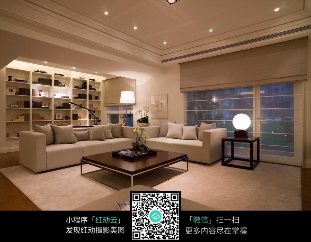 装潢-简约时尚的客厅装修图片吗