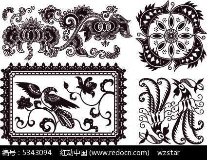 中国风吉祥图案花纹素材