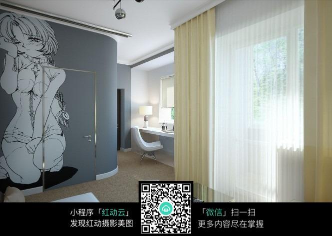 室内设计 房屋设计 室内装修 装潢 jpg格式 3d效果图 模型渲染图 装修