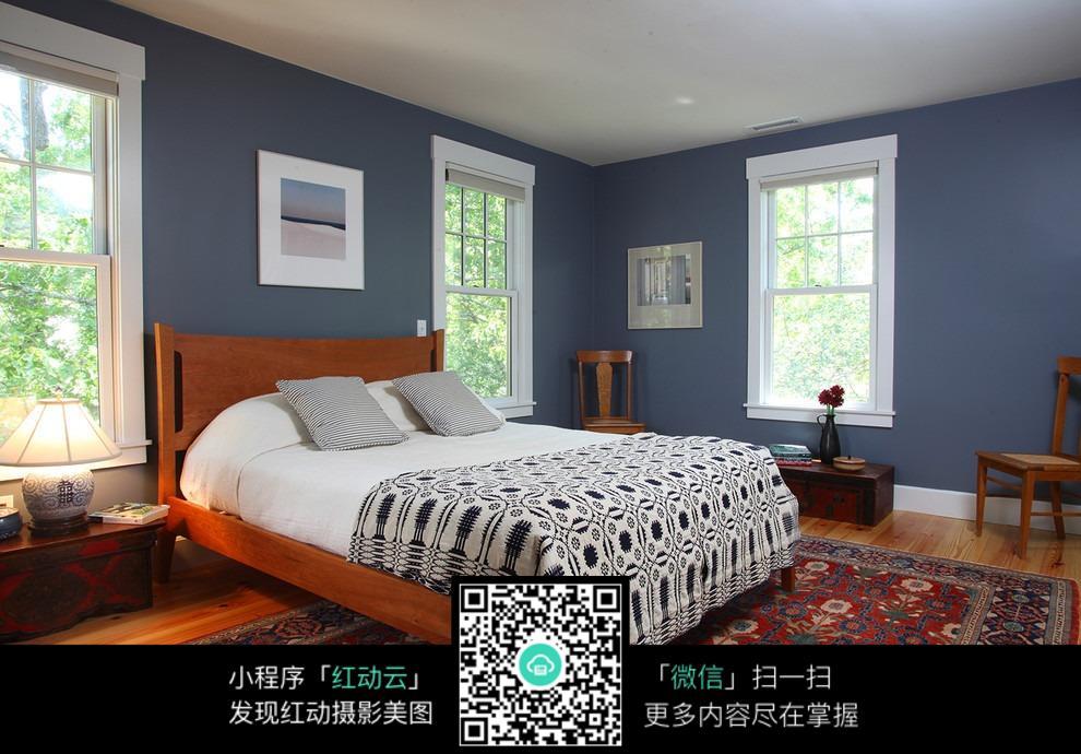 卧室色彩搭配_室内设计图片