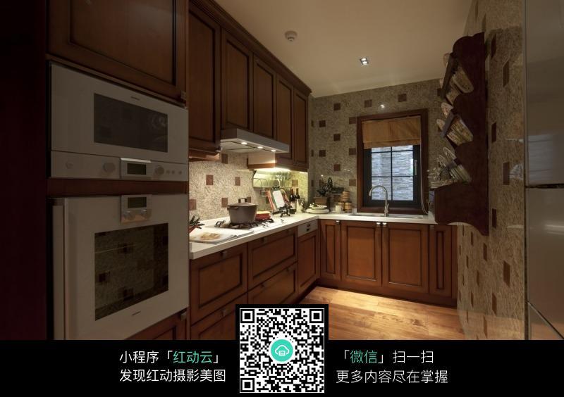 中式经典的厨房设计