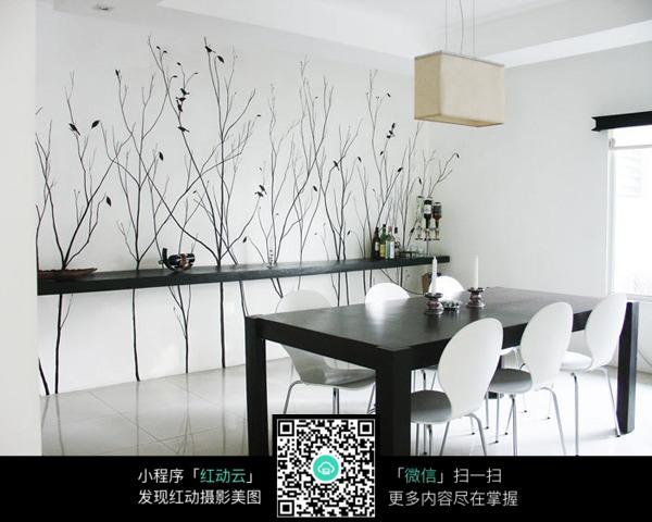 室内设计手绘树