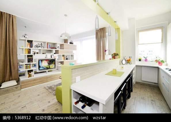 长方形餐桌设计图片_室内设计图片