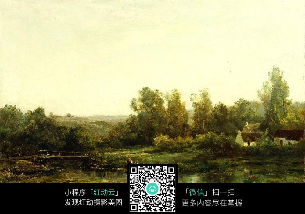 河边洗衣的农妇们图片免费下载 编号5366848 红动网