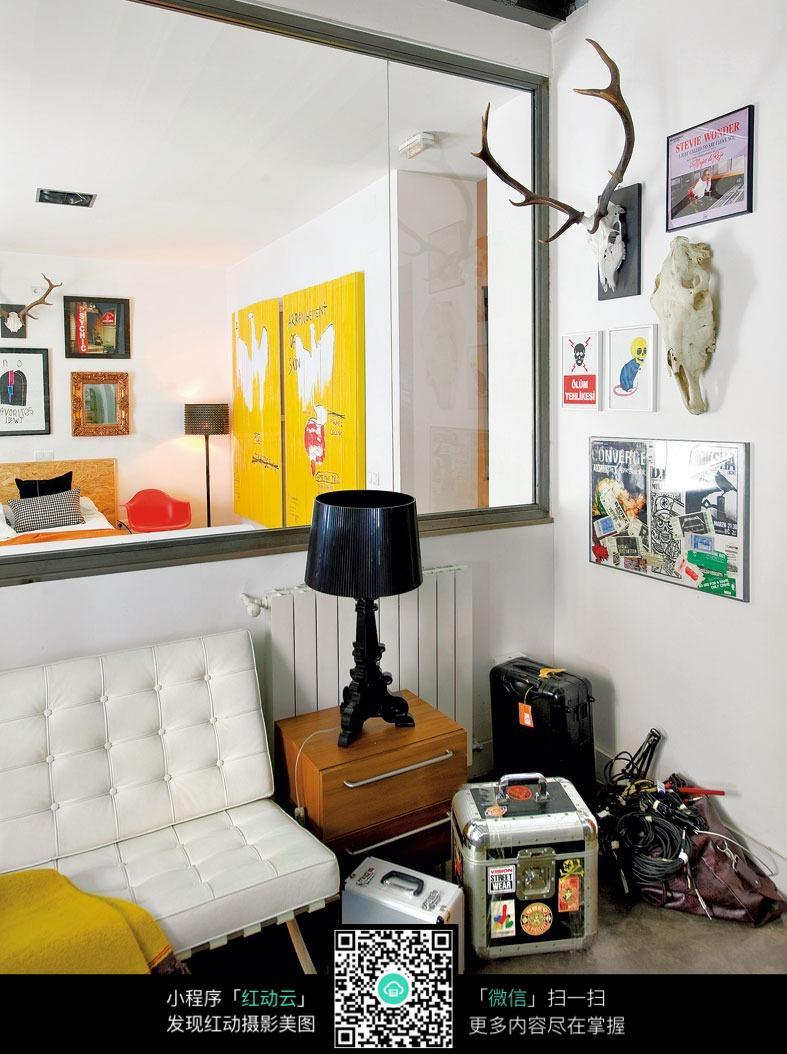 创意艺术客厅卧室设计图片图片