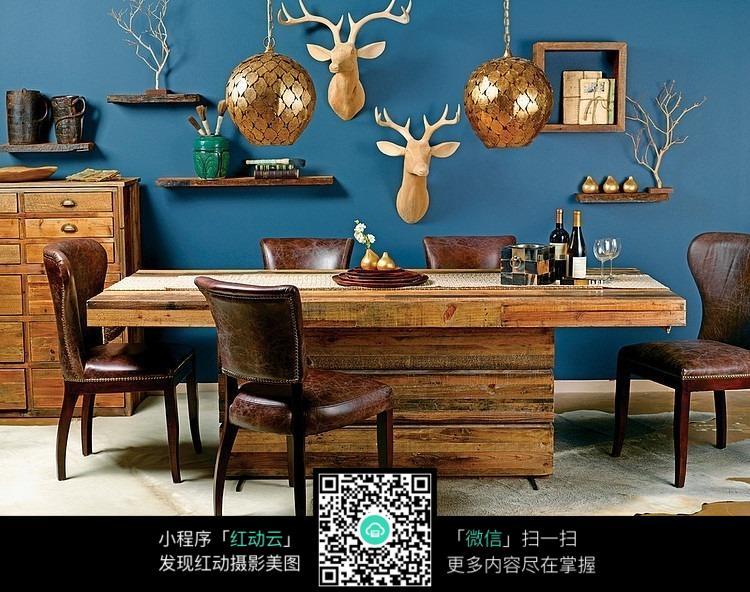 室内餐厅家居配饰设计效果图片