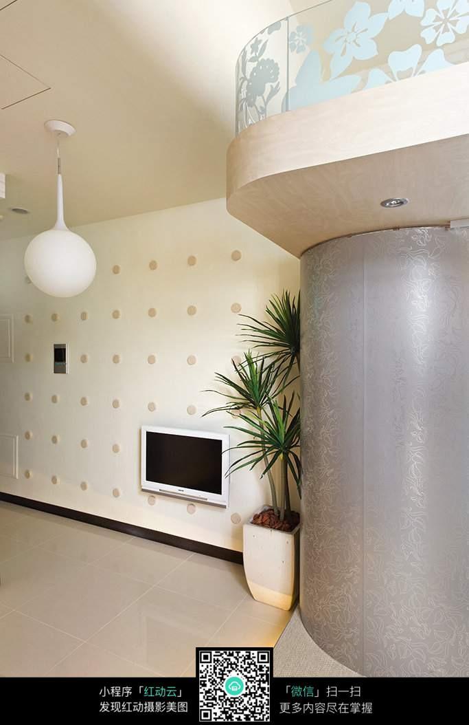 室内花艺绿植装饰图片_室内设计图片
