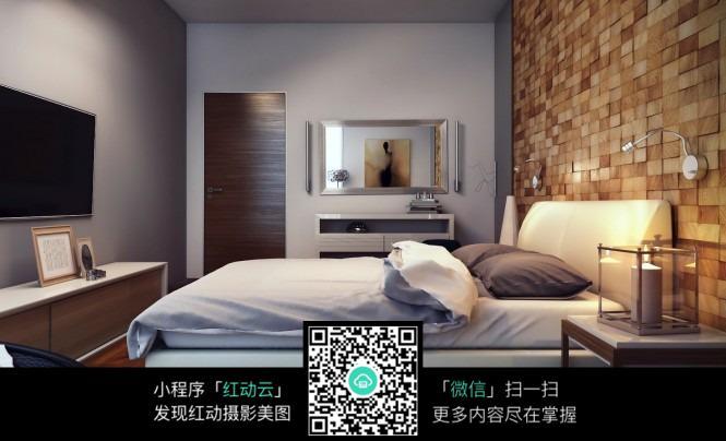 卧室侧面效果图