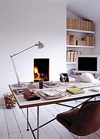 现代简约的书房设计