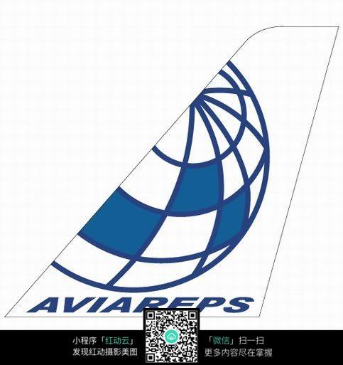 飞机尾翼图案创作设计图片