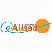 简洁航空公司logo设计图片