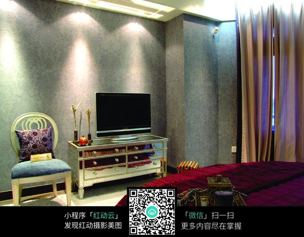 欧式经典卧室设计图片
