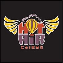 热气球图案logo设计图片