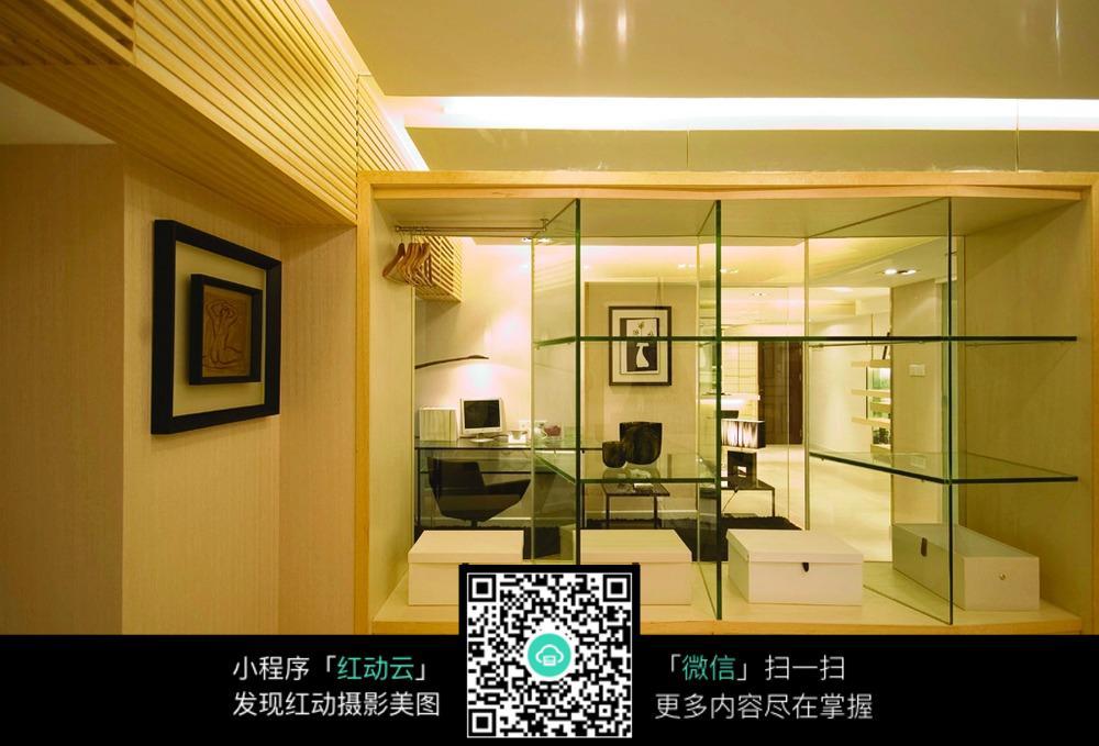 储物壁橱装修设计图_室内设计图片