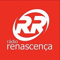 红色背景RADIO RENASCENCA标志设计