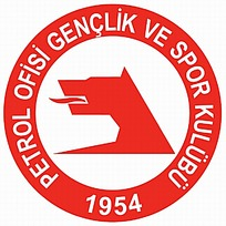 红色卡通图案logo设计图片