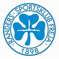 蓝色三叶草图案logo设计