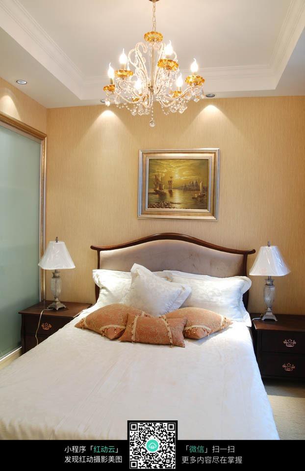 卧室简欧式灯具图片