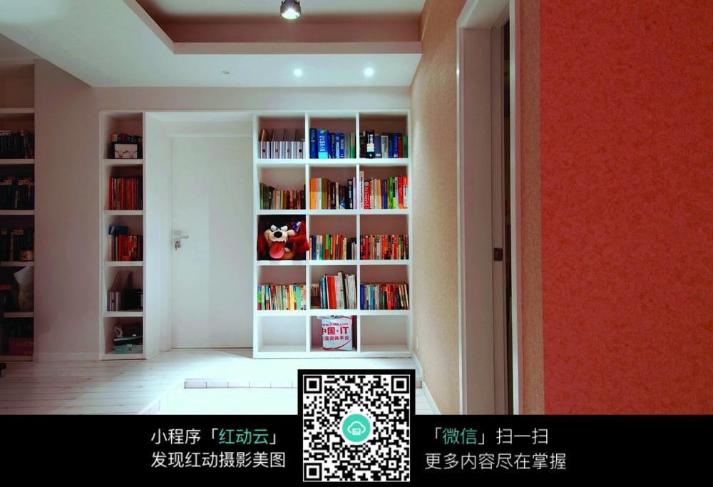 书架装修设计图片_室内设计图片