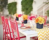 完美色彩餐厅装饰效果图