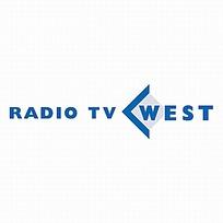 西部电台广播标志设计