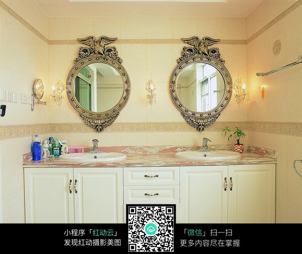 洗漱台装修设计图片