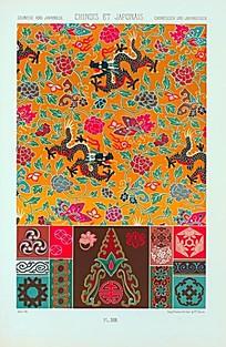中国风花纹装饰贴图素材