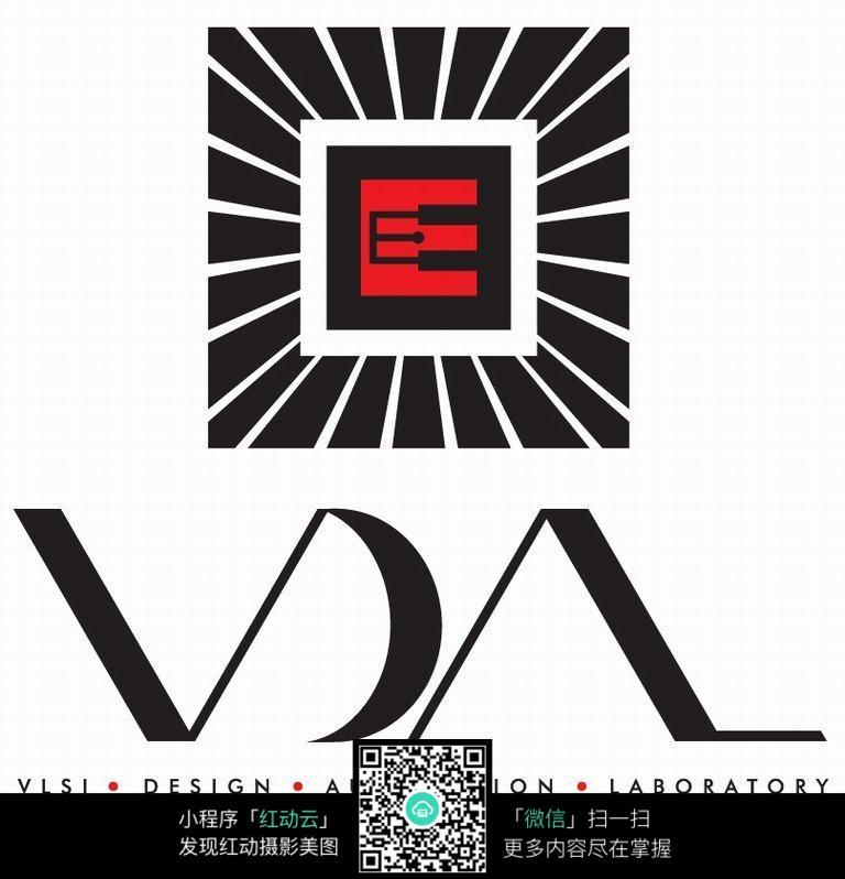 字母e创意logo设计图片