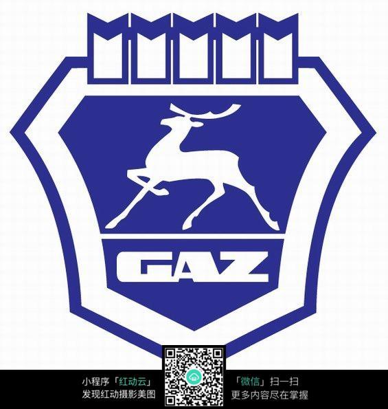 gaz汽车logo设计