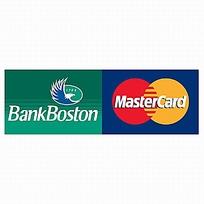 波士顿银行万事达卡标志