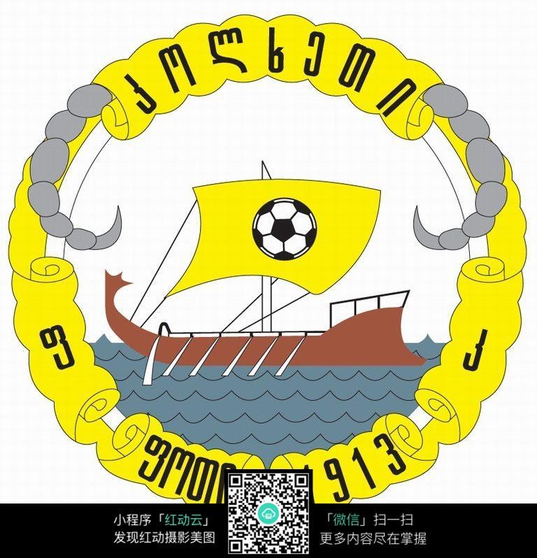 意 船 足球队logo 设计图片 其他图片图片