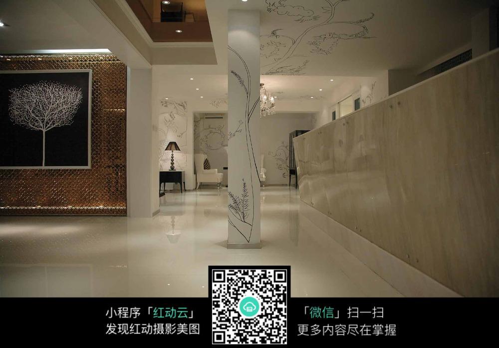 大理石客厅装饰_室内设计图片