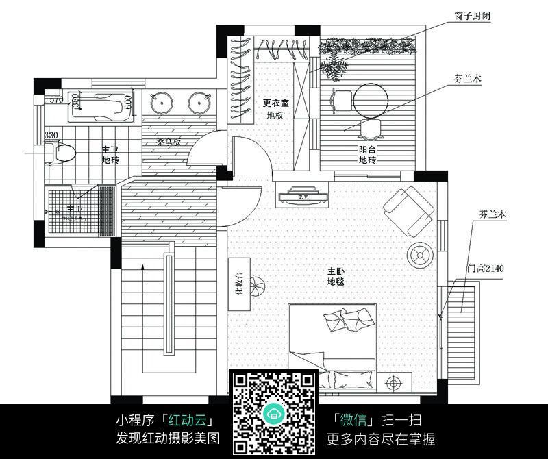 家庭装修室内平面图图片
